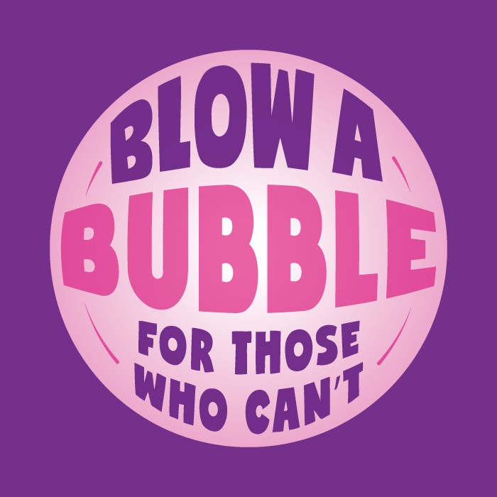 This is the image for the news article titled Blow A Bubble!!